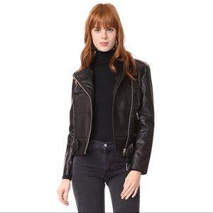 [bb dakota] • [maria leather jacket]